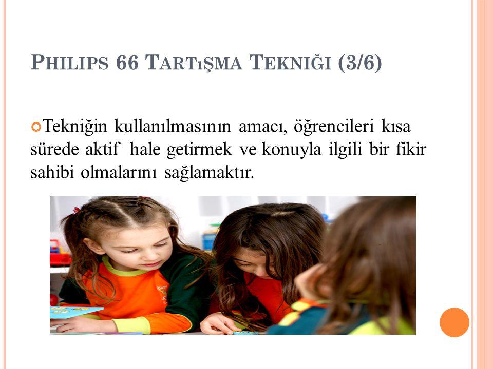 Philips 66 Tartışma Tekniği (3/6)