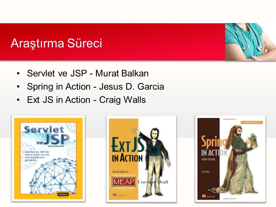 Araştırma Süreci Servlet ve JSP - Murat Balkan