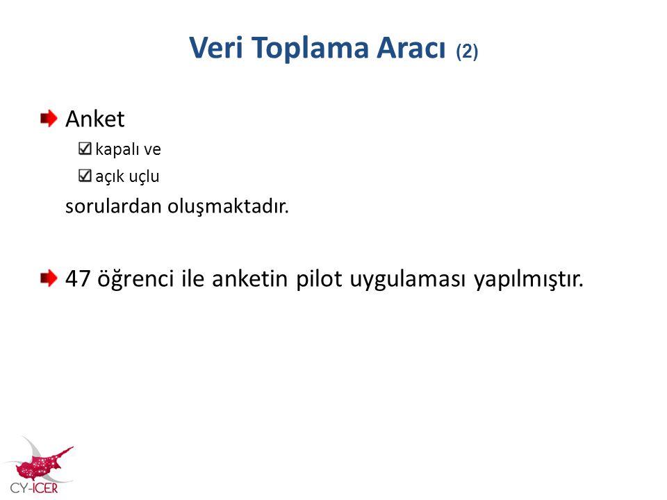 Veri Toplama Aracı (2) Anket