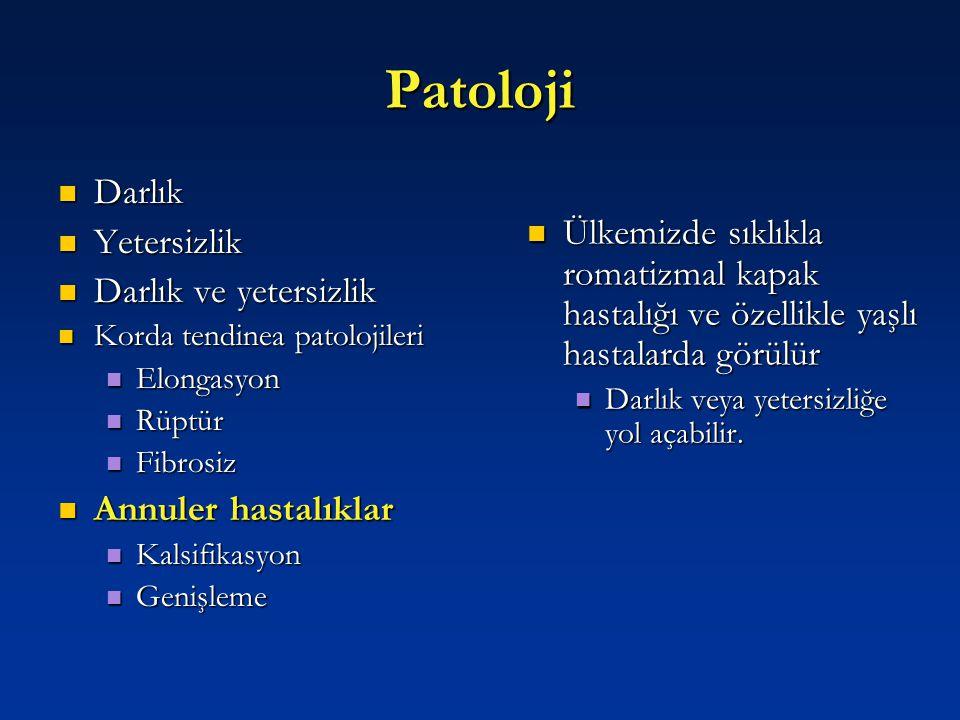 Patoloji Darlık Yetersizlik
