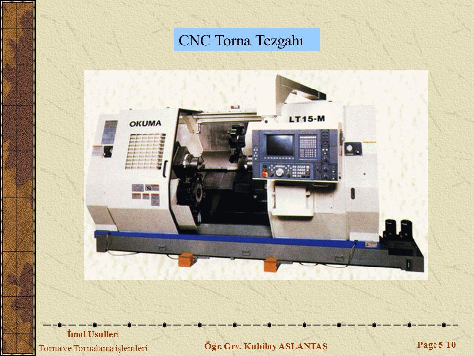 CNC Torna Tezgahı