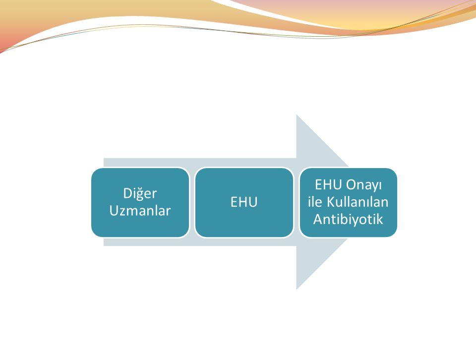 EHU Onayı ile Kullanılan Antibiyotik