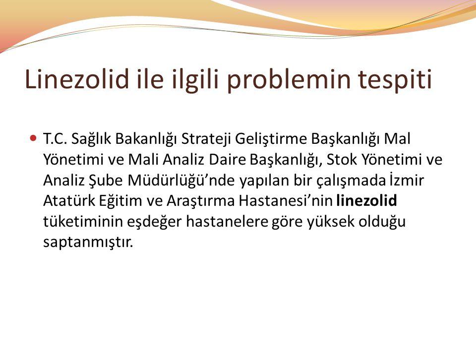 Linezolid ile ilgili problemin tespiti