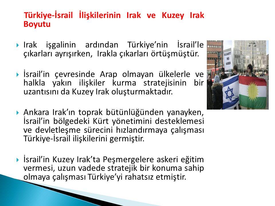 Türkiye-İsrail İlişkilerinin Irak ve Kuzey Irak Boyutu