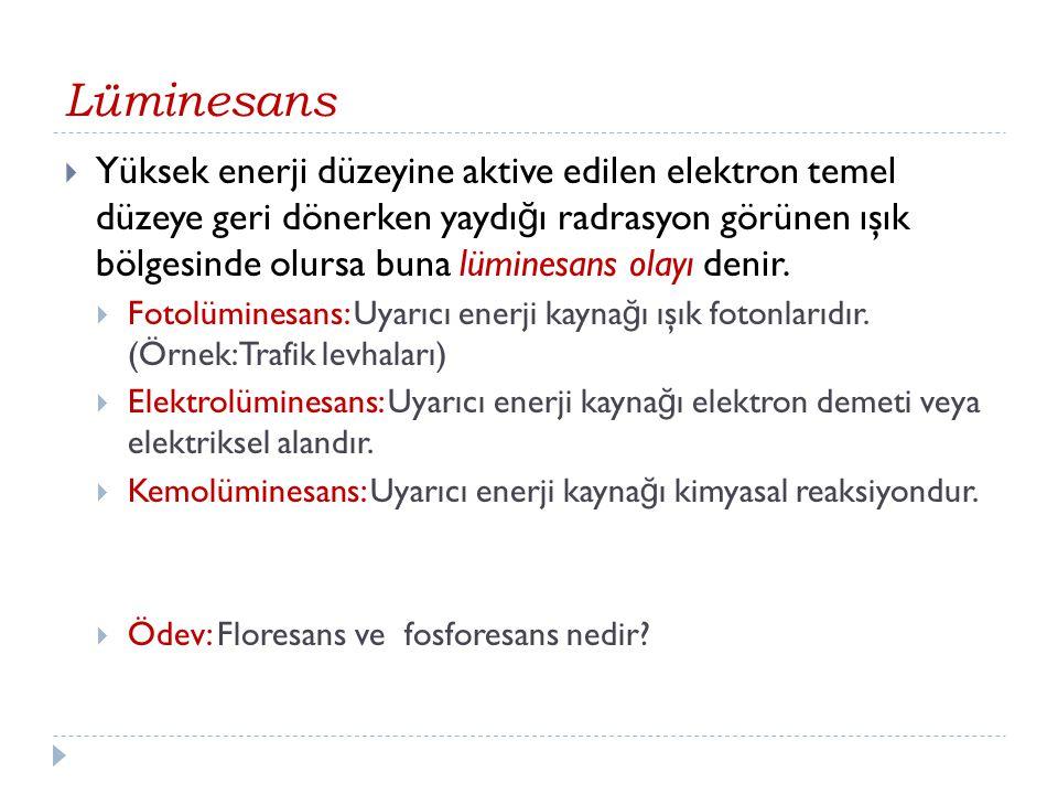 Lüminesans