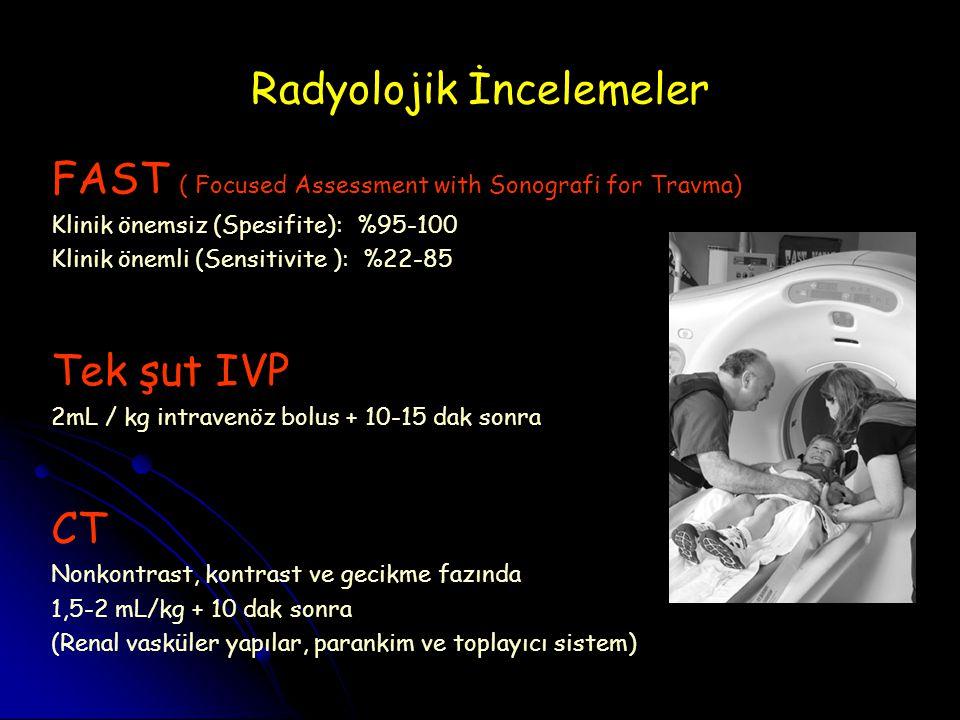 Radyolojik İncelemeler
