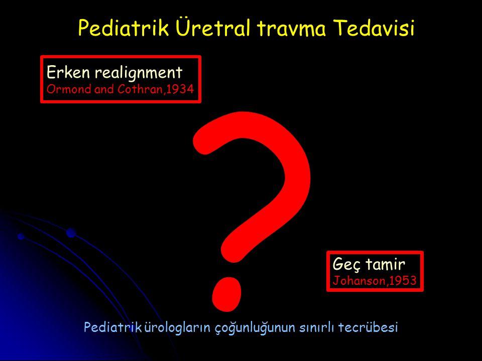 Pediatrik Üretral travma Tedavisi