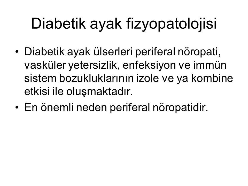 Diabetik ayak fizyopatolojisi