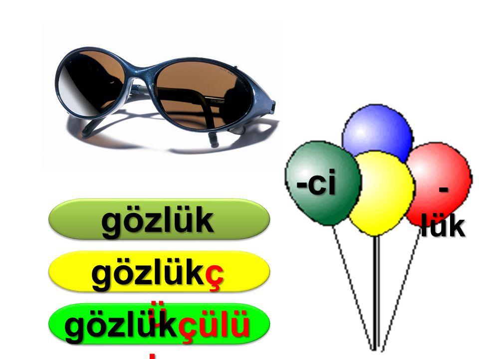 -ci gözlük gözlükçü gözlükçülük