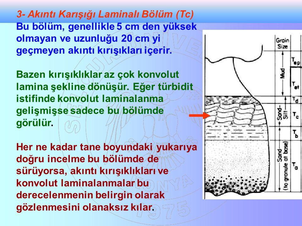 3- Akıntı Karışığı Laminalı Bölüm (Tc)