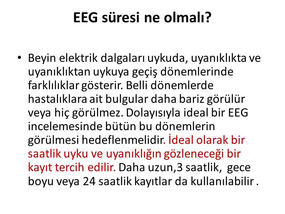 EEG süresi ne olmalı