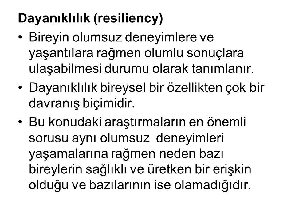 Dayanıklılık (resiliency)