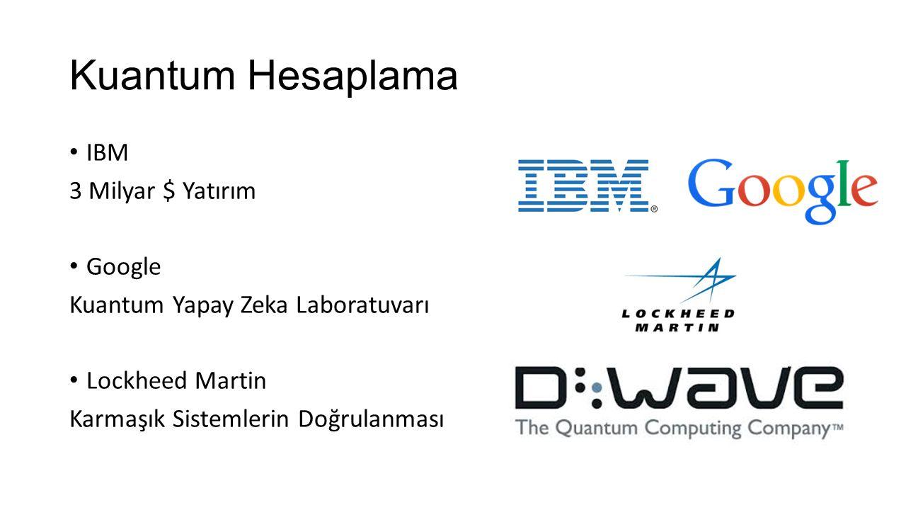 Kuantum Hesaplama IBM 3 Milyar $ Yatırım Google