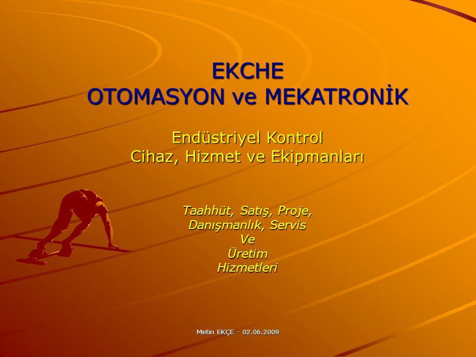OTOMASYON ve MEKATRONİK