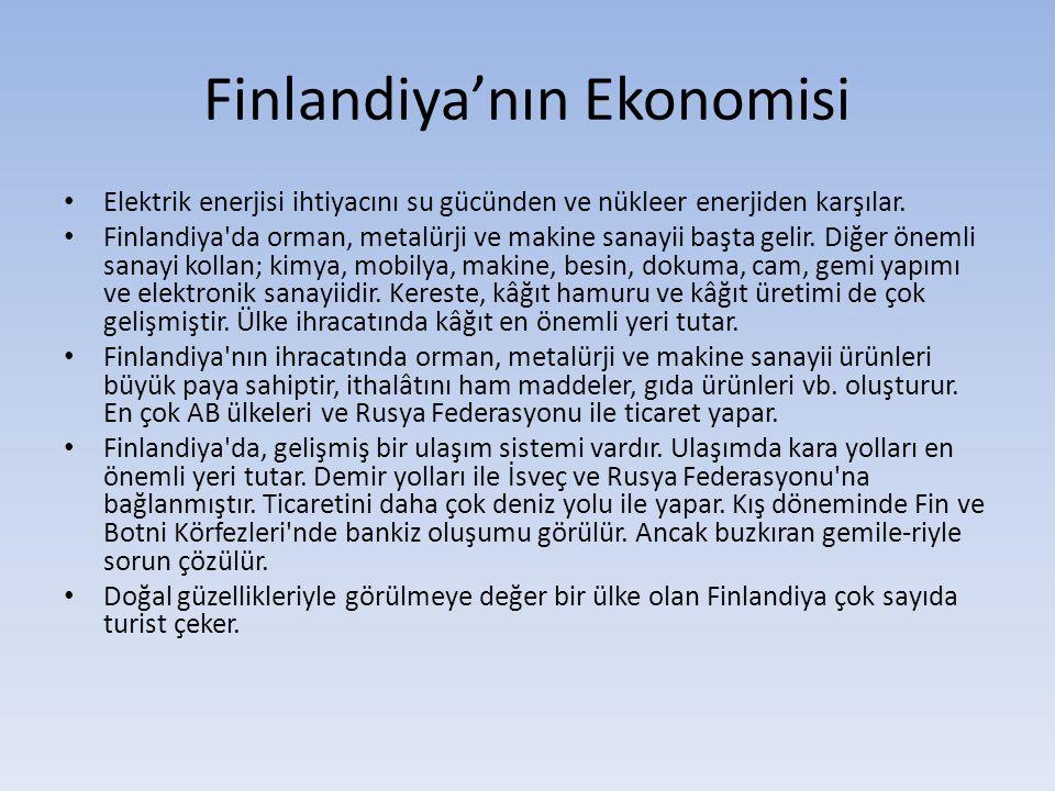 Finlandiya'nın Ekonomisi