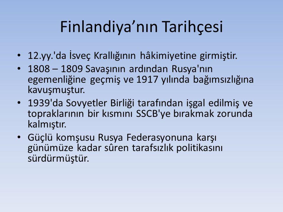 Finlandiya'nın Tarihçesi