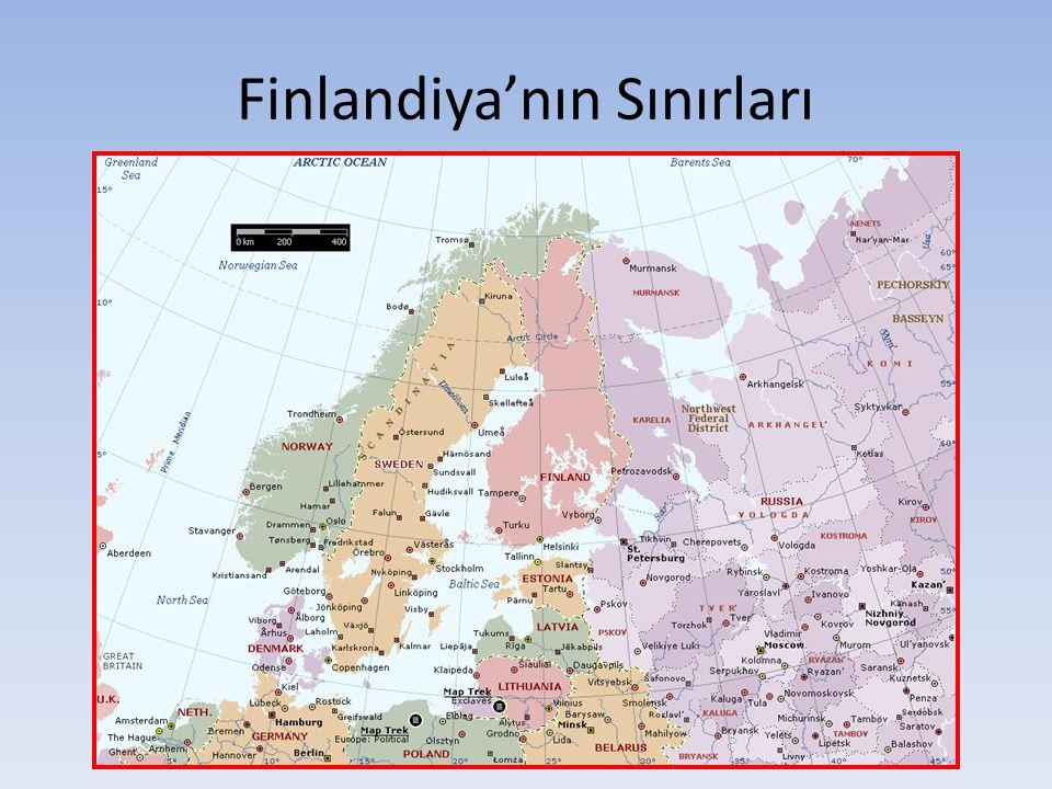 Finlandiya'nın Sınırları