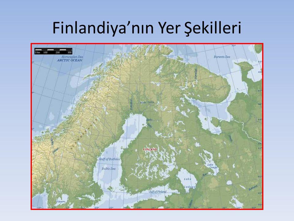 Finlandiya'nın Yer Şekilleri