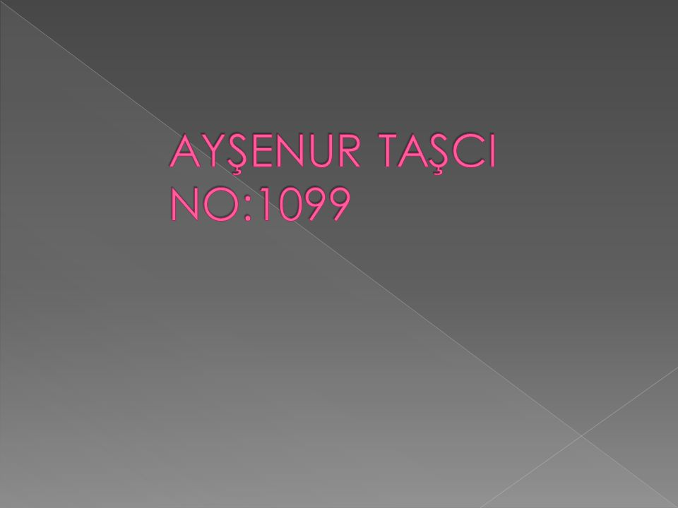 AYŞENUR TAŞCI NO:1099