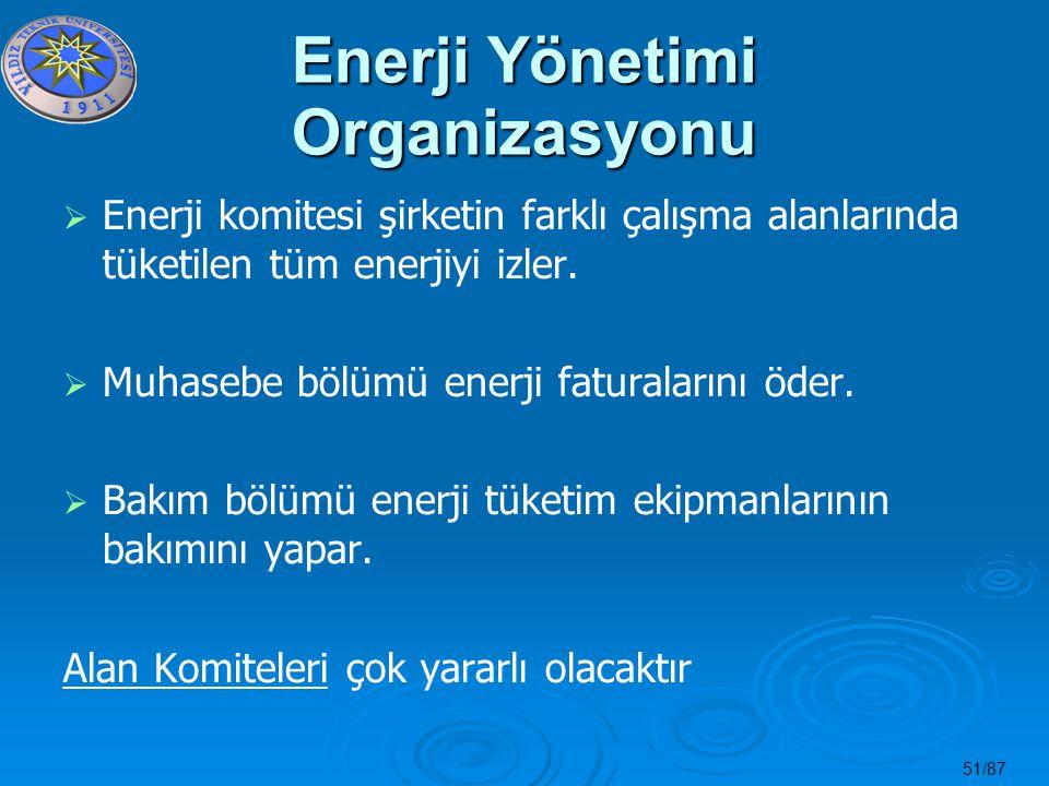 Enerji Yönetimi Organizasyonu
