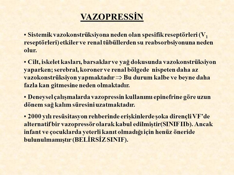 VAZOPRESSİN