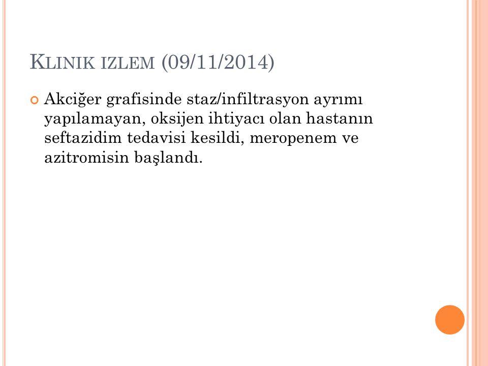 Klinik izlem (09/11/2014)