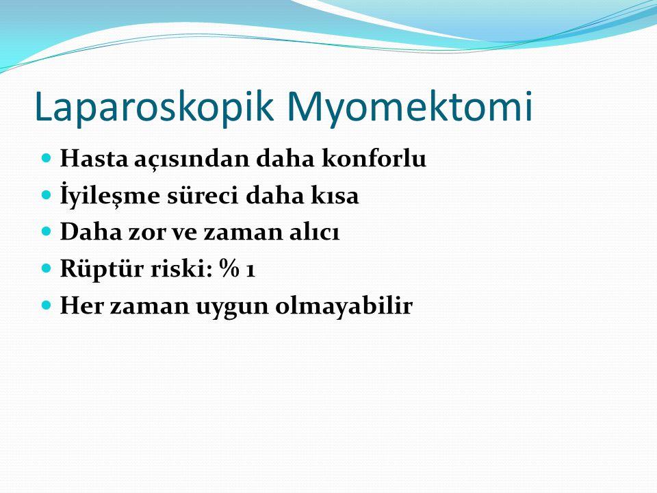 Laparoskopik Myomektomi