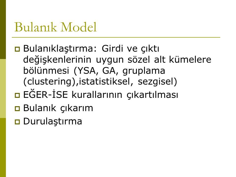 Bulanık Model