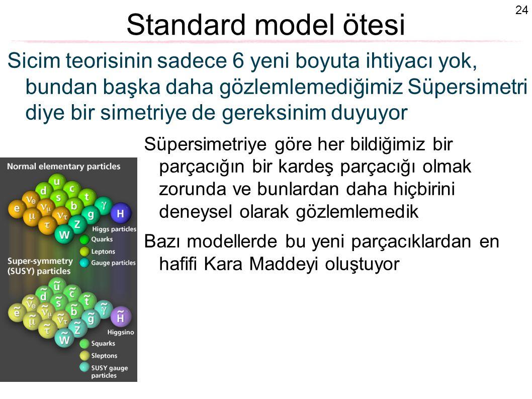 Standard model ötesi