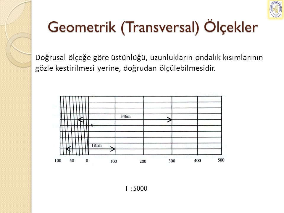 Geometrik (Transversal) Ölçekler