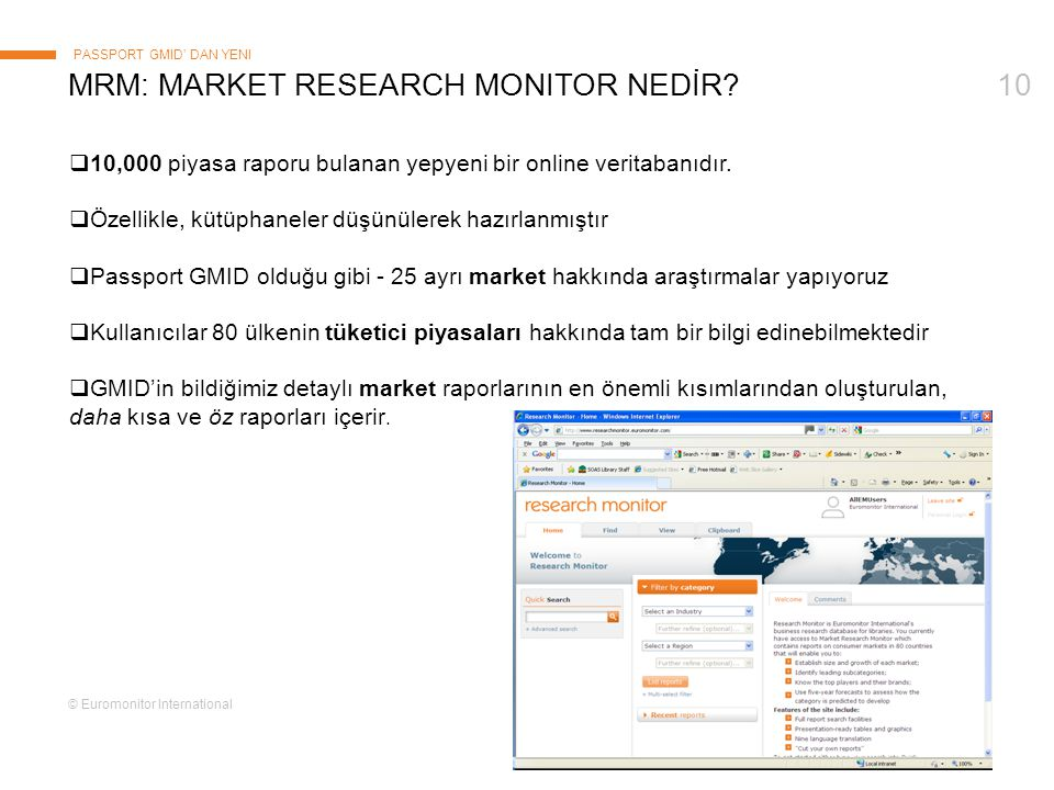 mRm: Market Research monitor NEDİR