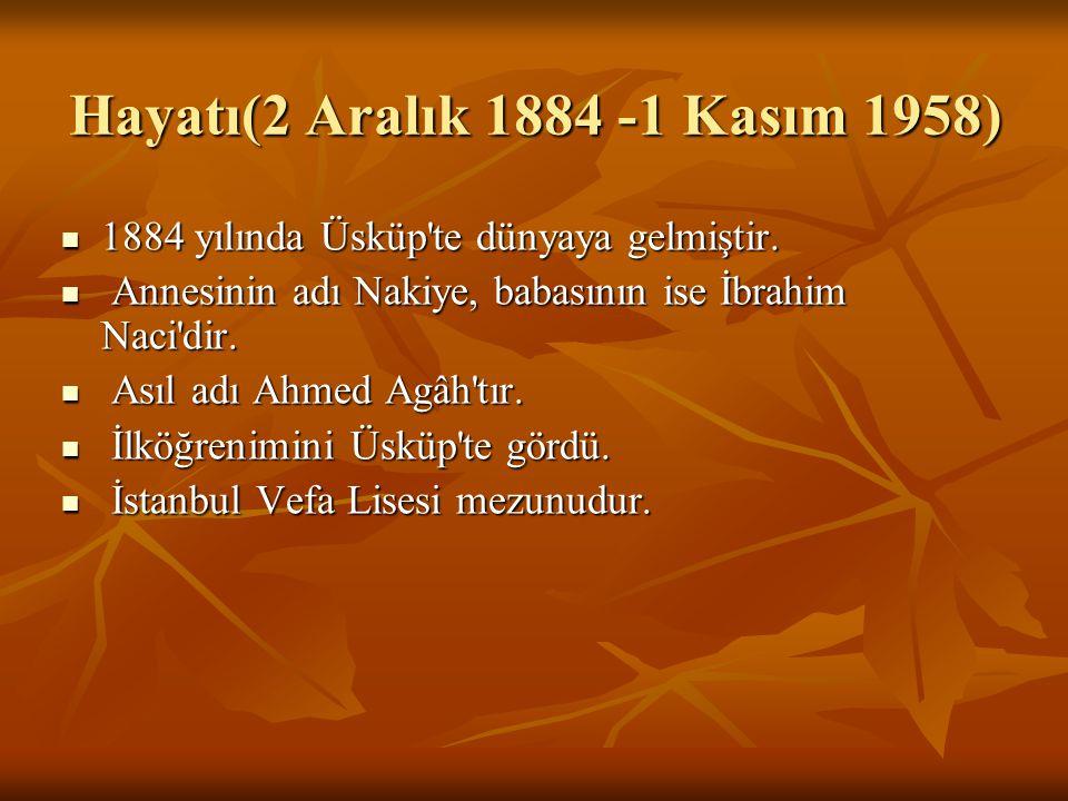 Hayatı(2 Aralık 1884 -1 Kasım 1958)