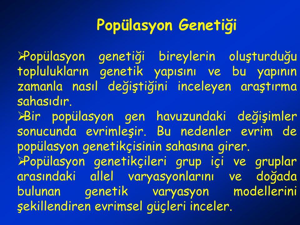 Popülasyon Genetiği