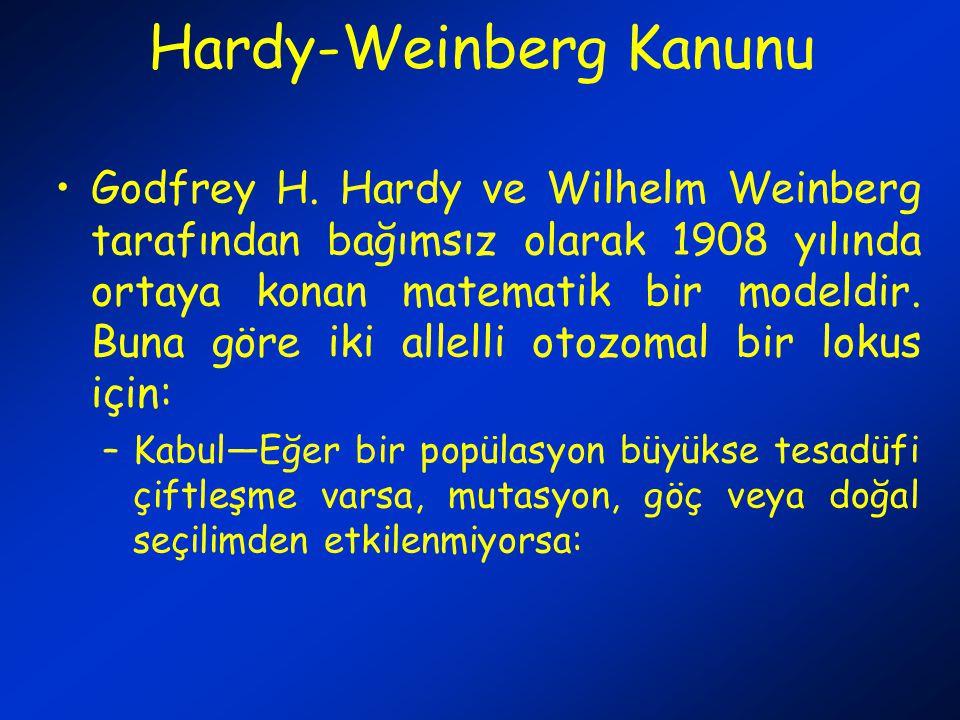 Hardy-Weinberg Kanunu