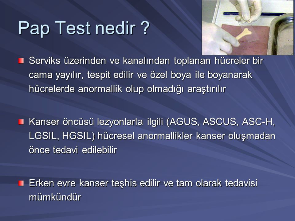 Pap Test nedir