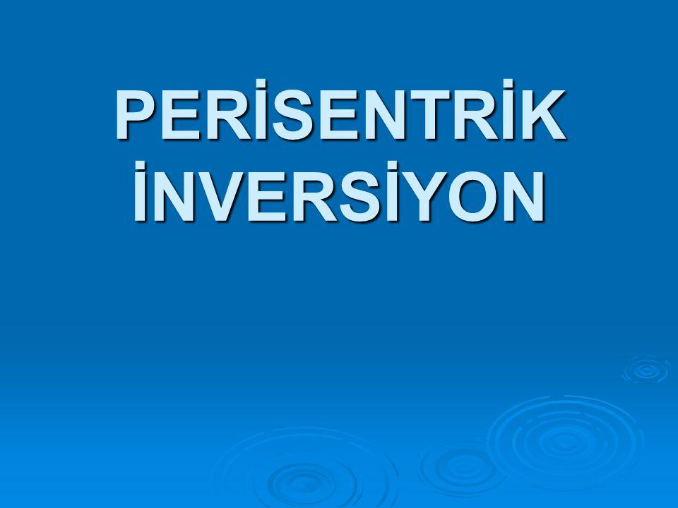 PERİSENTRİK İNVERSİYON