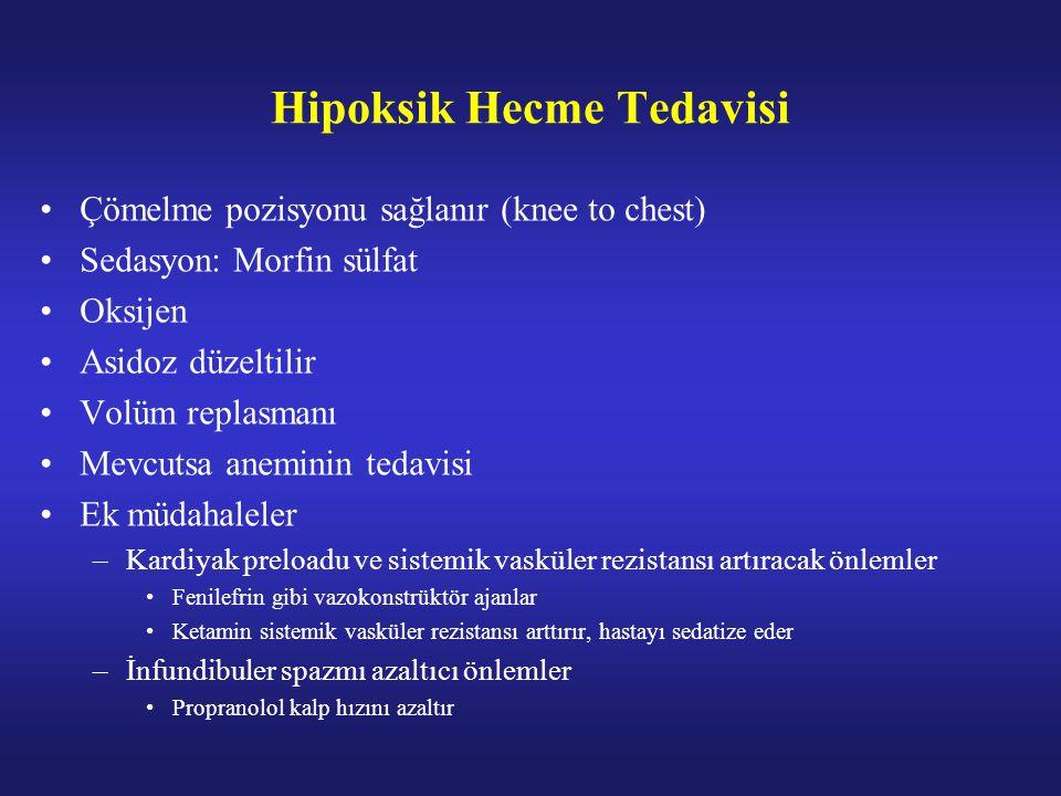 Hipoksik Hecme Tedavisi