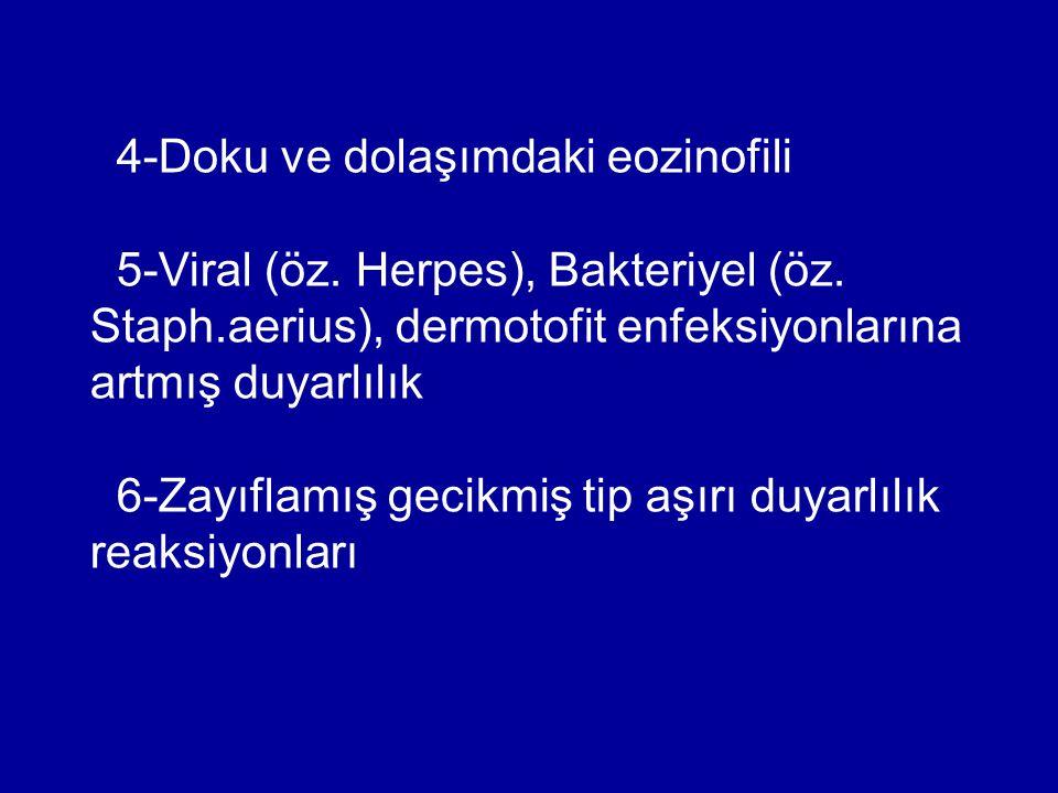 4-Doku ve dolaşımdaki eozinofili