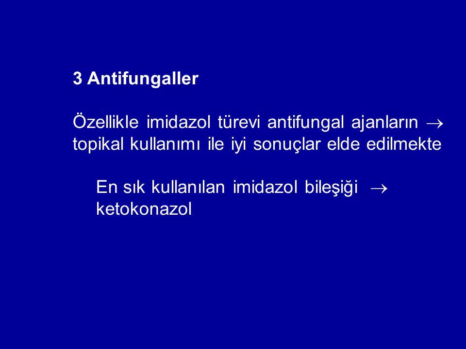 En sık kullanılan imidazol bileşiği  ketokonazol