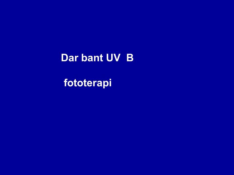 Dar bant UV B fototerapi Etki mekanizması