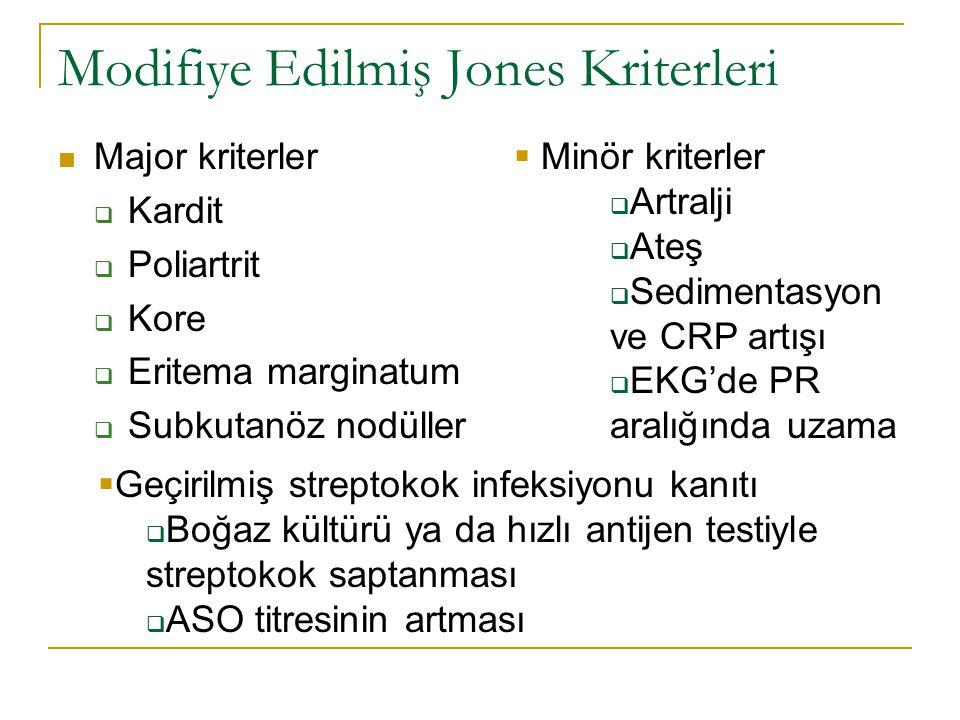 Modifiye Edilmiş Jones Kriterleri