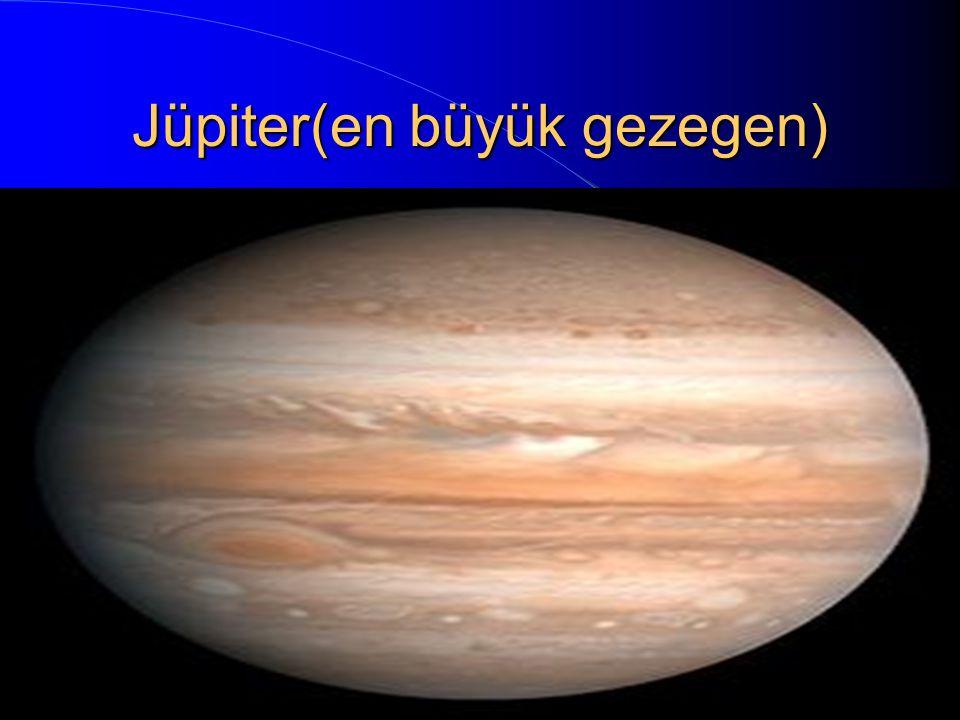 Jüpiter(en büyük gezegen)