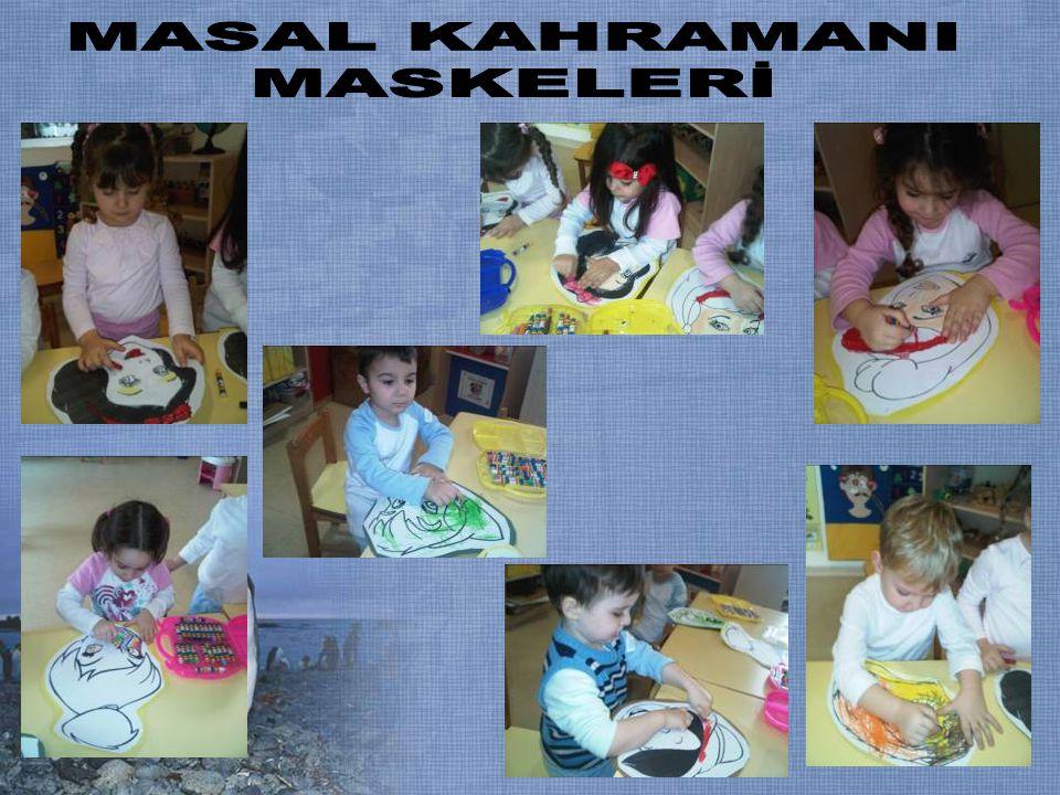 MASAL KAHRAMANI MASKELERİ