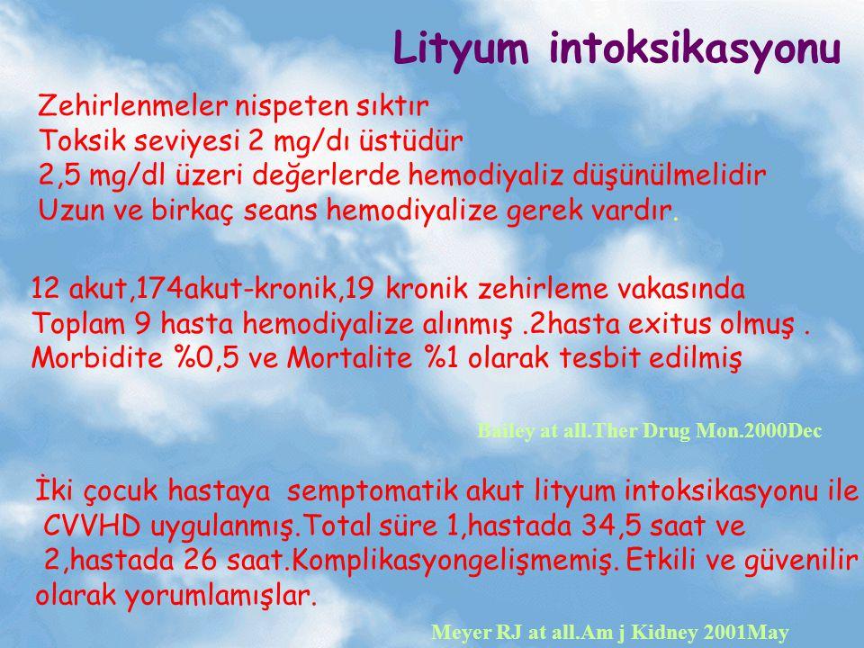 Lityum intoksikasyonu