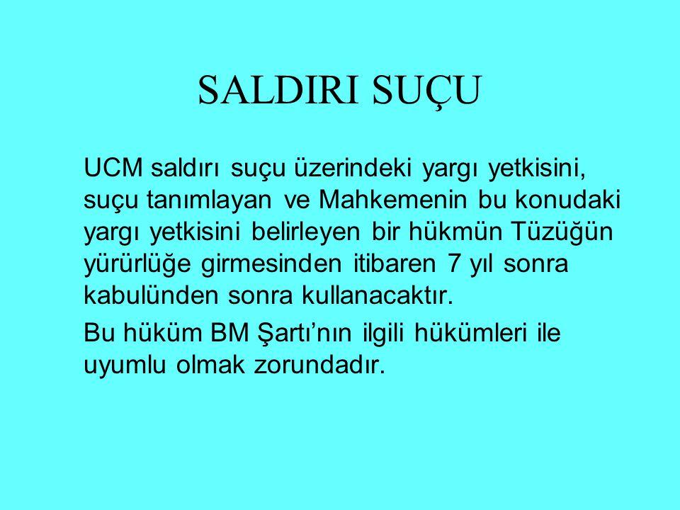 SALDIRI SUÇU