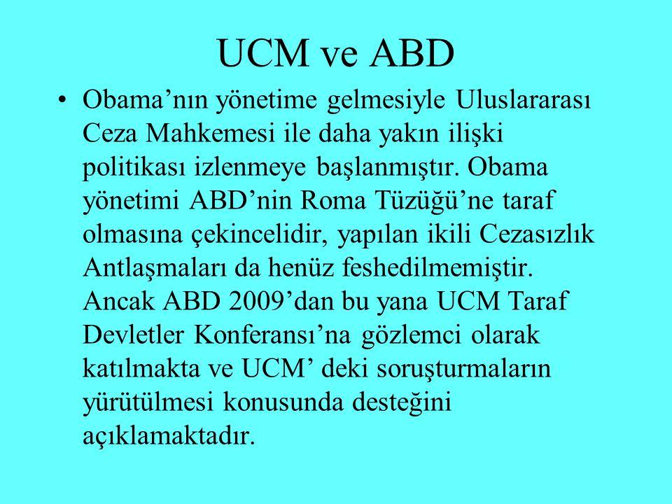 UCM ve ABD