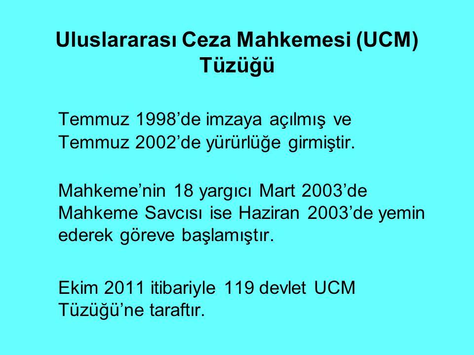 Uluslararası Ceza Mahkemesi (UCM) Tüzüğü