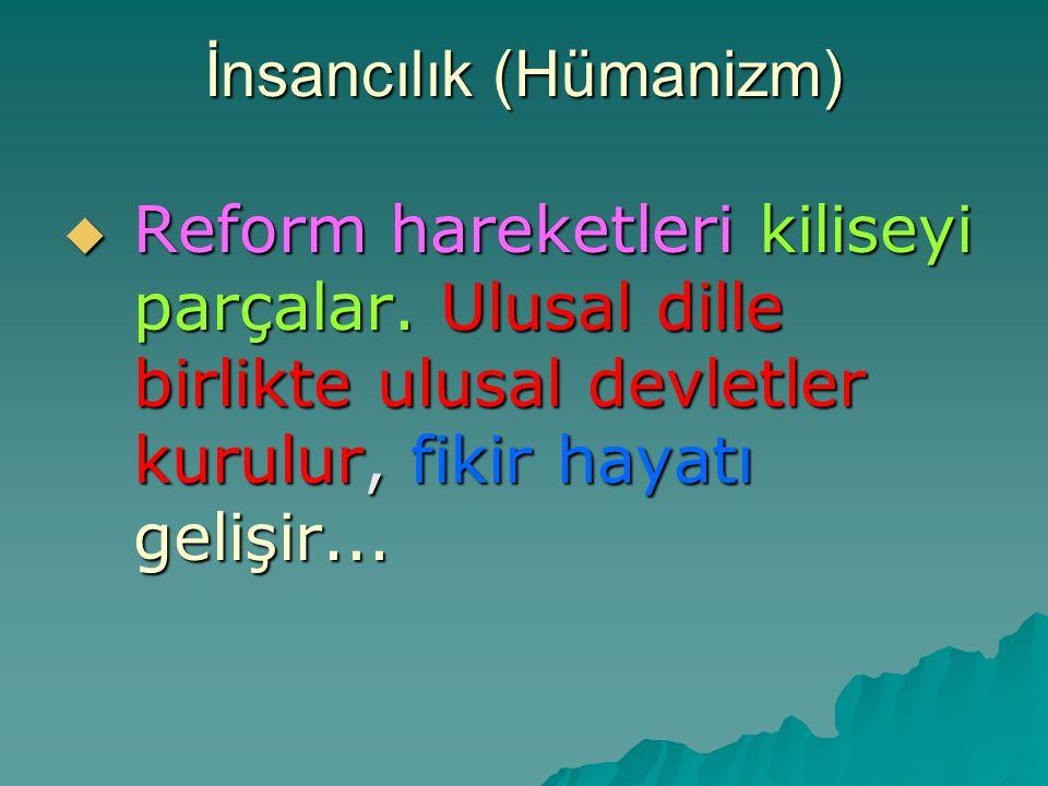 İnsancılık (Hümanizm)
