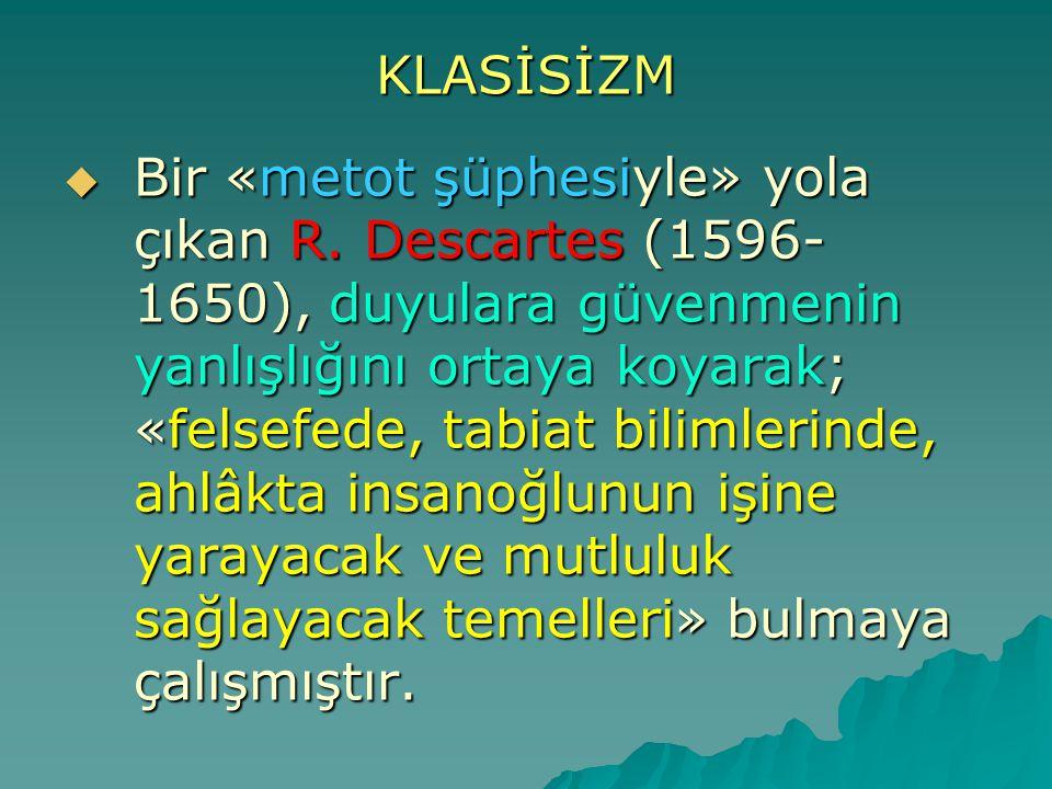 KLASİSİZM