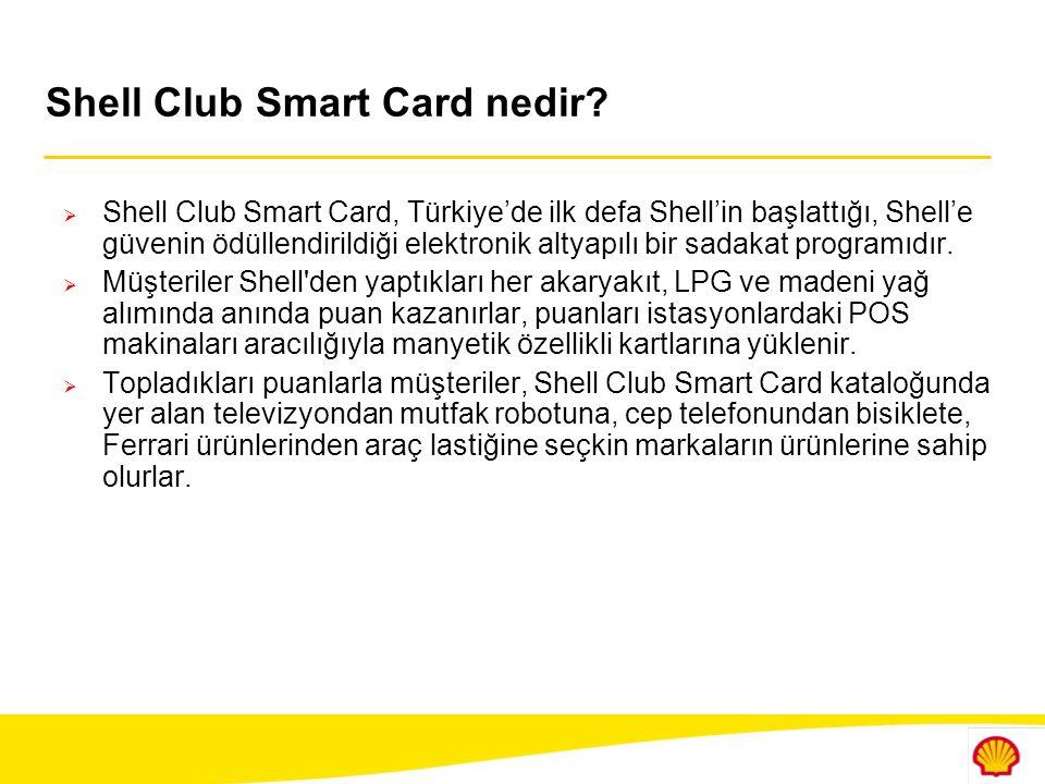 Shell Club Smart Card nedir